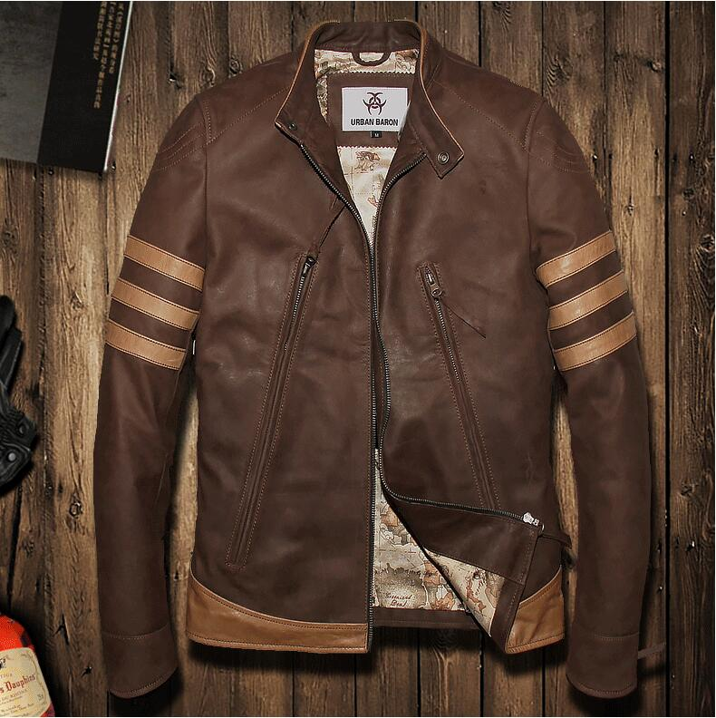 Popular Vintage Mens Sheepskin Jacket-Buy Cheap Vintage Mens ...
