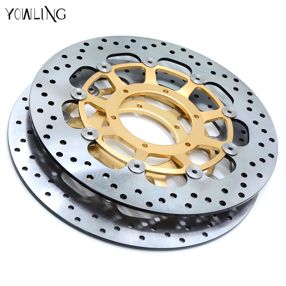 new motorcycle parts Front Brake Discs Rotor For Honda CBR600RR 2003 2004 2005 2006 2007 2008 2009 2010 2011 2012 2013 2014 aftermarket free shipping motorcycle parts frame slider for yamaha 2004 2005 2006 2007 2008 2009 2010 2011 2012 fz6 fz6s 600 cn