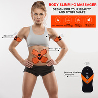Rechargeable Body Slimming Massager Muscle Stimulator For Multifunction Exercise Fitness Wireless Operation