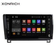 Xonrich автомобильный мультимедийный плеер 2 Din Android 8,1 для Toyota Tundra Sequoia 2007 2008 2009 2010 2011 2012 2013 Авторадио wi-Fi ips