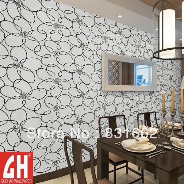 4329 Free Shipping Pvc Modern Brief Draw Wire Flower Wallpaper Gold Foil Paper Ceiling Background Wallpaper Contact Paper Decorative En Fondos De