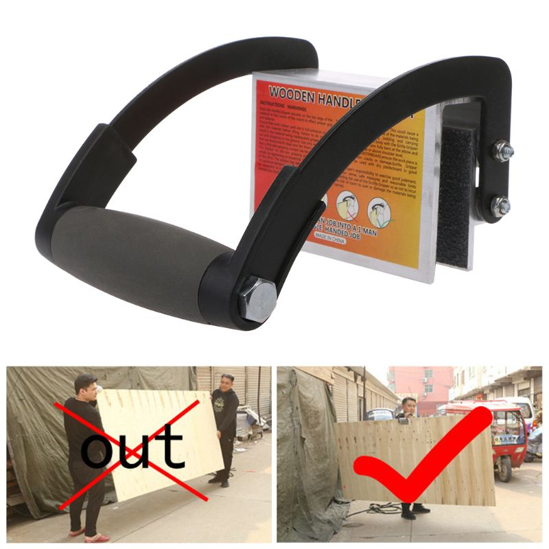 Plywood Panel Carrier Handy Gripper Wood Board Lifter Handle Tool Special Home Tools