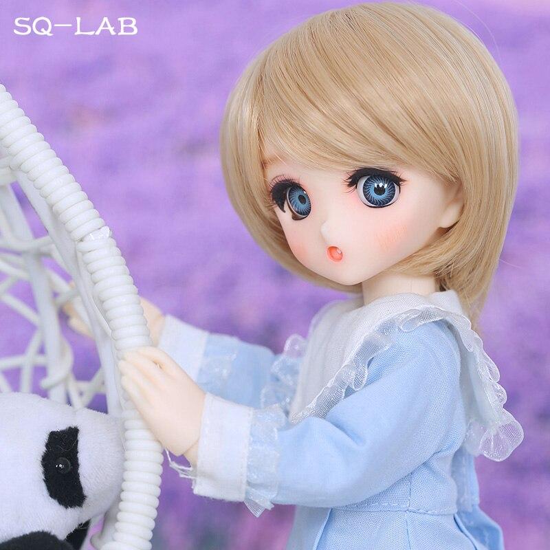 Fullset metrów kwadratowych laboratorium Chibi Ren 1/6 YoSD Lati Luts 2D Linachouchou dziewczyny chłopcy oczu wysokiej jakości zabawki oczy buty żywica rysunek BJD SD lalki w Lalki od Zabawki i hobby na  Grupa 3