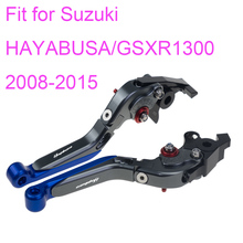 цена на KODASKIN Left and Right  Folding Extendable Brake Clutch Levers for Suzuki HAYABUSA GSXR1300 2008-2015