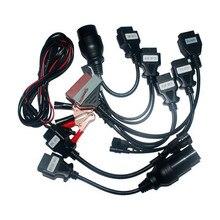 Best автомобиля Кабели 8 автомобилей Кабели полный набор для DS150 multidiag WOW CDP PRO инструмент диагностики Бесплатная доставка