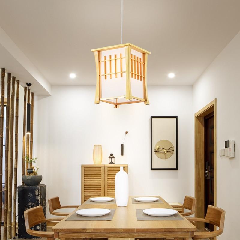 все цены на Japanese pendant lamp tatami restaurant light fixtures hanglamp led sushi restaurant pendant lights droplight LU71353 YM онлайн