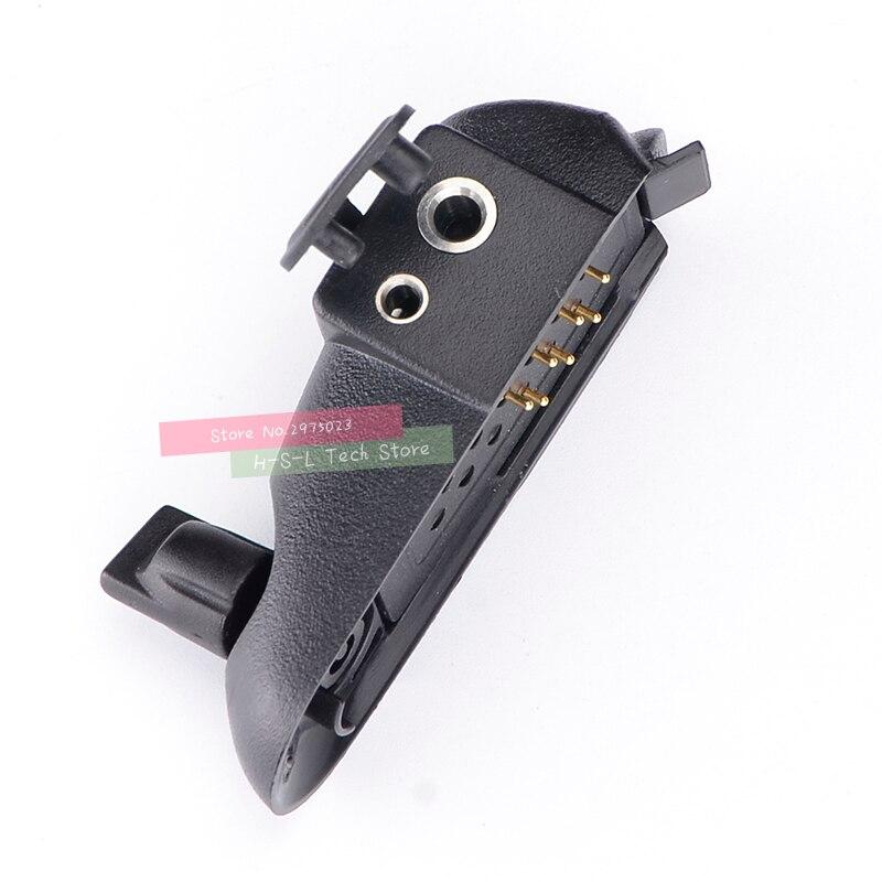 טלוויזיות 25 29 עבור מתאם אודיו Talkie Walkie Baofeng BF-9700 UV-XR UV-5S UV5R-WP BF-R6 GT-3WP T-57 UV-9R עבור M ממשק 2Pin אוזניות נמל (5)