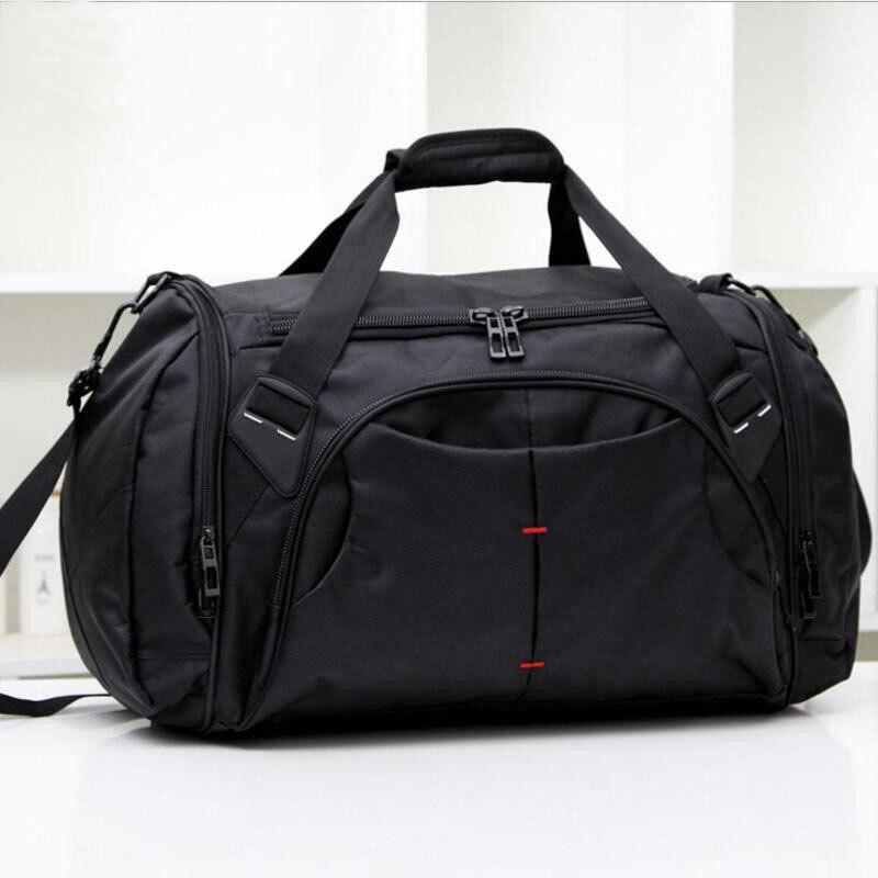 JXSLTC Large Waterproof Travel Bag For Women Hand Luggage 2017 Vintage Mens Travel Duffle Bags Casual Weekend Bag Men
