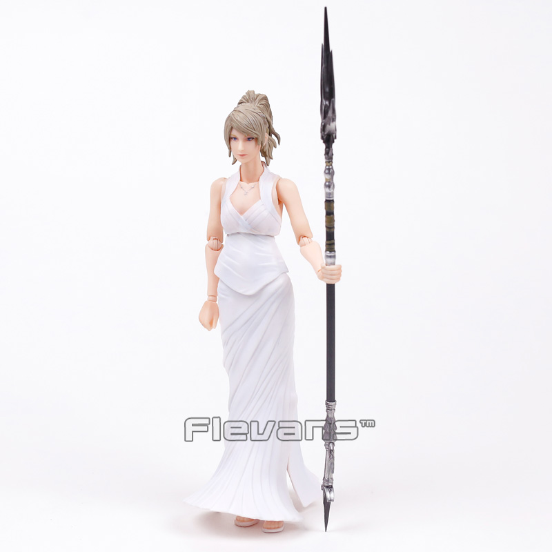 Play Arts Kai Final Fantasy XV 15 Lunafreya Nox Fleuret Moveable PVC Action Figure Collectible Model Toy 25cm