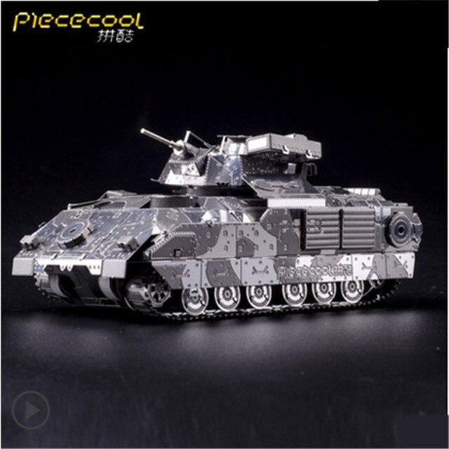 ICONX Piececool DIY Металл 3D Головоломки, M2A2 P041S Puzzle 3D Модели, образовательные и Обучающие Игрушки, детские Игрушки/Brinquedos