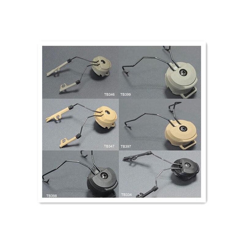 Prix pour Fma casque accessoires Sordin Type support DE casque rapide casque Rail Adapter Set BK / DE / FG livraison gratuite