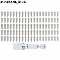 NoEnName Null 100 Pcs 15mm Car SUV ATV Anti Slip Screw Stud Wheel Tyre Snow Tire