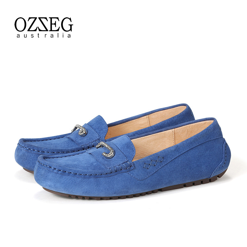 Brand Women Shoes Genuine Leather Flats Soft Casual Moccasins Driving Footwear Slip On Loafers Femal Shoes High Quality vesonal brand casual shoes men loafers adult footwear quality ons boat soft driving genuine leather man mocassin male walking