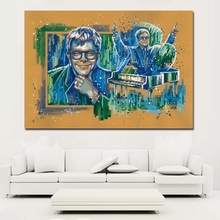 elton john póster RETRO VINTAGE