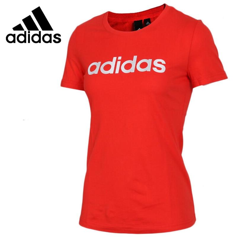 Nova Chegada Original 2018 Adidas GFX SS T LINEAR Camisetas de manga curta Sportswear das Mulheres
