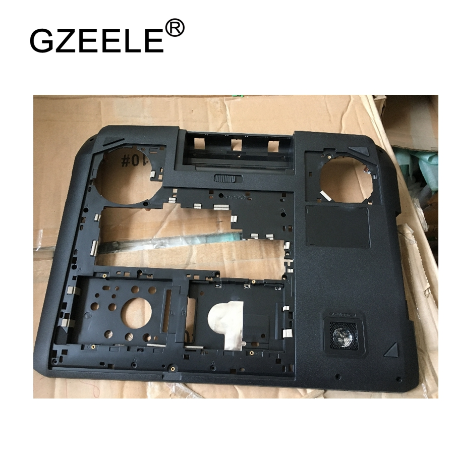 GZEELE New laptop Bottom case Base Cover for ASUS G75 Series G75 G75V G75VW G75VX D shell 13N0-MBA0221 lower case MainBoard case gzeele new laptop bottom base case cover for hp for elitebook 8560w 8570w base chassis d case shell lower case 652649 001 black