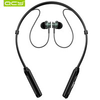 QCY BH1 Bluetooth Headphones IPX5 Waterproof Earbuds Sports Wireless Earphones Lightweight Neckband Headset With Mmicrophone