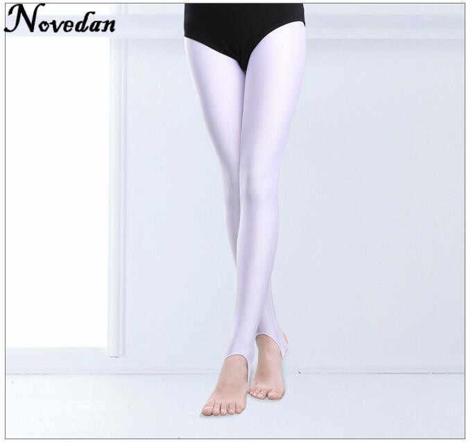 e75238a9a2d18 ... Child Kids Girls Stirrup Ballet Dance Tights Socks Gymnastics Practice  Pantyhose Fitness Pants Dance Clothes Legging ...