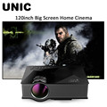 Original unic uc46 inalámbrica wifi mini portátil full hd de vídeo led proyector de cine en casa soporte miracast dlna airplay ee. uu./enchufe de la ue