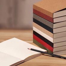 Free shipping Thick sketch paper blank sketch book doodle book sketchblock notebook befriend daily memos kraft vintage copybook
