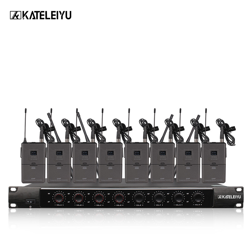System 8600B Professional Wireless Microphone 8 Channel Professional VHF 8 Stage Karaoke Microphone Handheld Wireless Microphone ugx88 professional one to four wireless microphone professional stage performance meeting the sound box condenser microphone