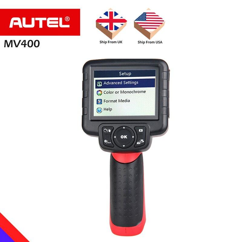 AUTEL MV400 Maxivideo MV400 8 5mm Digital Videoscope Image Head Inspection Camera Diagnostic tool OBD2 obd
