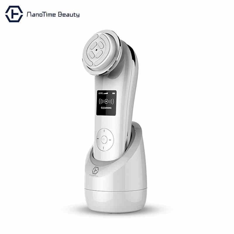 цена на NanoTime Skin-L Facial Massager RF Multi-Function Beauty Equipment,Anti-wrinkle Rejuvenation beauty Machine V Face and lifting 0