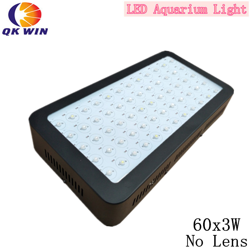 Dimmable 180W LED Aquarium Light 60X3W Fish Tank System
