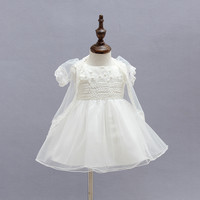 Retail Summer Baby Girl Clothes New Style Princess Baby Girls Dress Birthday Gift For Infant Sleeveless