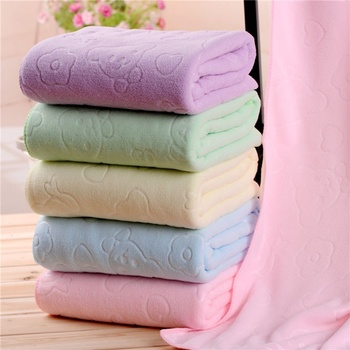 70 X140cm Microfiber Absorbent Bath Towel Soft Shower Towel Soft Quick-drying Washcloth 1
