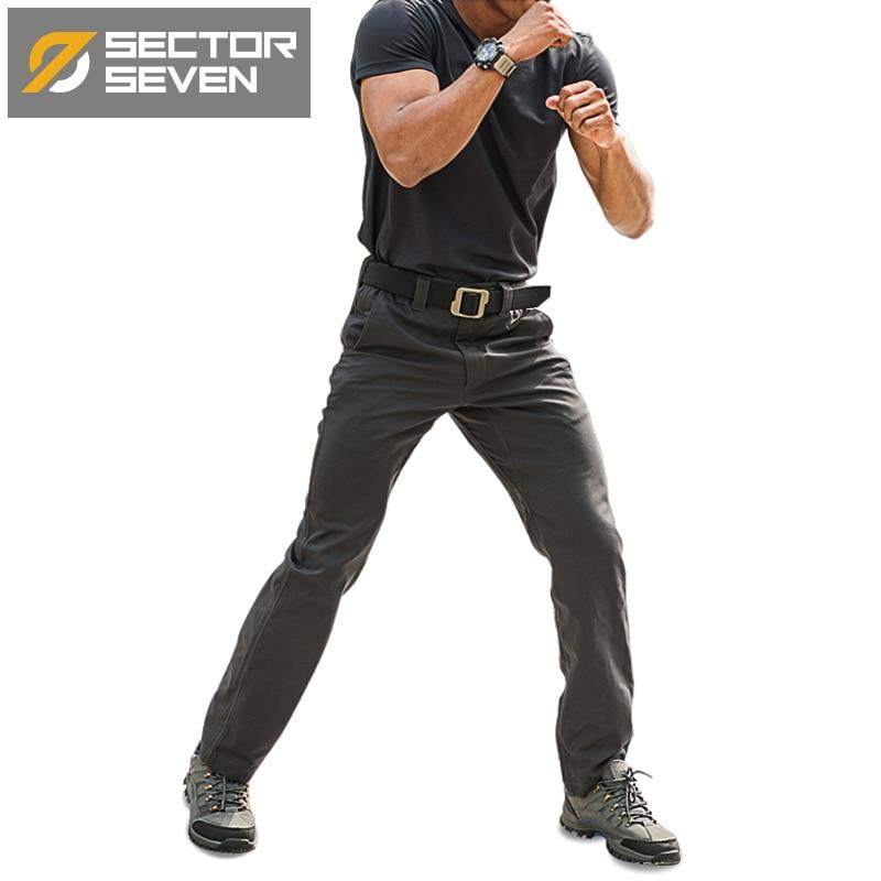 Taktične hlače Waterproof silm mens hlače IX6 casual hlače moški Army vojaške taktične hlače moški udobno