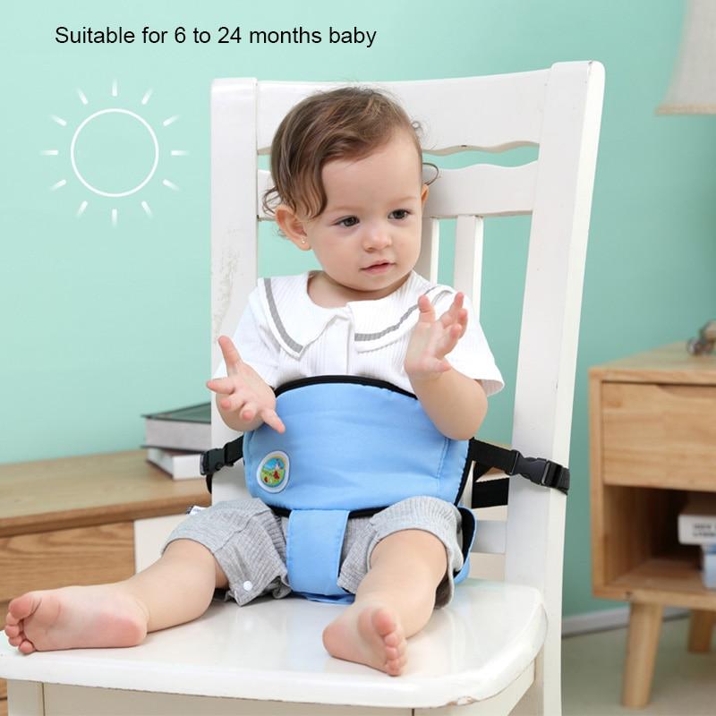 Portable Chaise Bébé Ceinture de sécurité À Manger Chaise D alimentation  Ceinture Enfants Harnais de 0241fbeab02