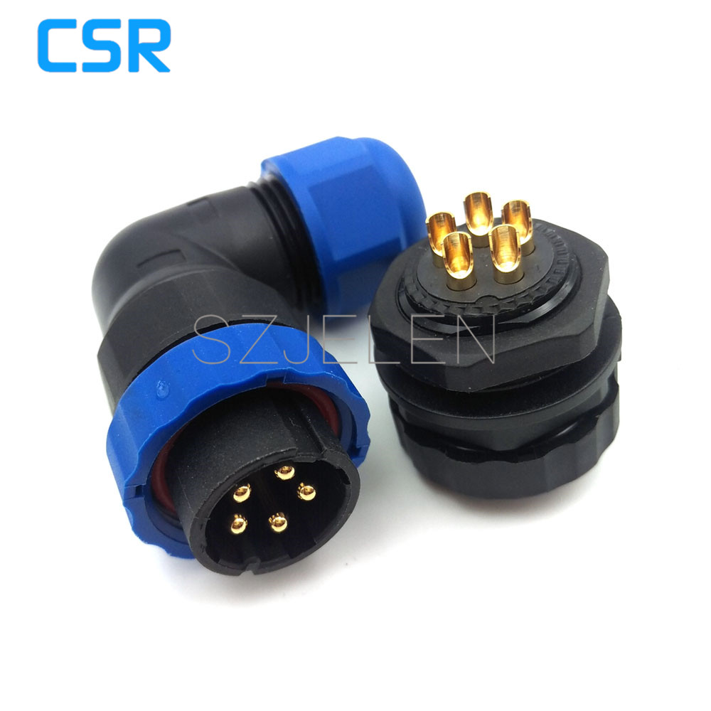 SD20TA-ZM, waterproof 5 pin connector,IP67, LED 5 pin power cable connector, automotive wire connector plug socket sd28tp zm 16 pin waterproof connectors led cable plug and socket ip67 industrial panel mount connector current rating 10a