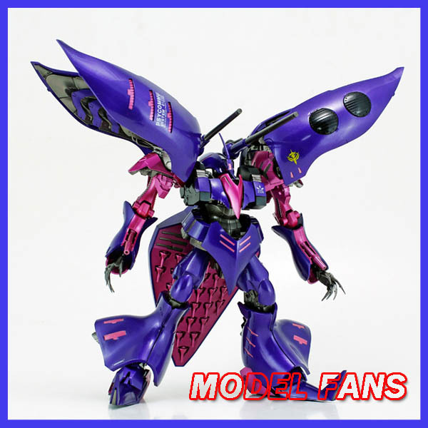 MODEL FANS IN-STOCKMC gundam assembly model Gundam ZZ HG 1/144 Purple Qubeley MK 2  Freeshipping mc 8355 new in stock