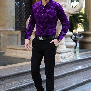 Image 4 - Mu Yuan Yang chemise à manches longues pour hommes, nouvelle collection de styliste, en flanelle de haute qualité, harujuku
