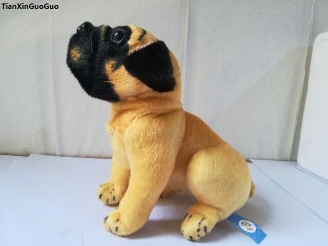 Stuffed animal 20cm squat pug dog plush toy doll high quality gift present  w1179 b339a43b92