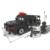 Estación de policía swat hummer coche soldados militares serie 3d bloques de construcción modelo compatible con lego city boy manías del juguete de regalo