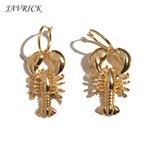 Summer Metal Ladies Shell Earrings Conch Starfish Drop Women Statement Jewelry