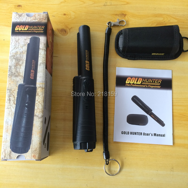 Free Shipping gold hunter propointer pinpointer cheapest metal detectors detector de metais pro pointer free shipping gold hunter propointer pinpointer metal detector gold detector for treasure hunting