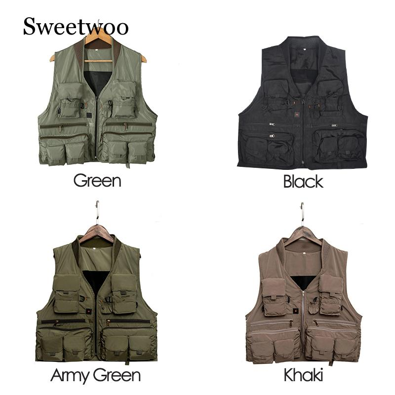 Korean Fishing Vest Quick Dry Fish Vest Breathable Material Fishing Jacket Outdoor Sport Survival Utility Safety Waistcoat in Fishing Vests from Sports Entertainment