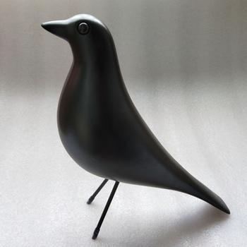 Middle Size House Bird Living Room Loft Furnish Decoration Art Craft Birthday Gift Toy Resin House Bird