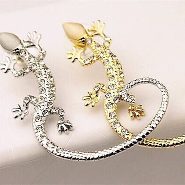 Korean jewelry popular nightclub earhook exaggerated imitation Rose