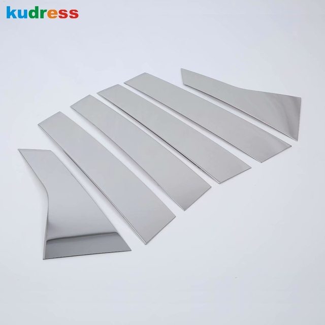For Honda Accord 2018 2019 10th Ge Stainless Window Frame Trim ...