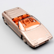 1:43 small Scale hot luxury LEO Athon Bertone 1980 concept cars spider metal diecasting Collectible models toys for boys gold