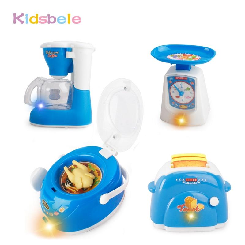 Toys for children pretend play mini kitchen set cooking for Mini kitchen set for kids