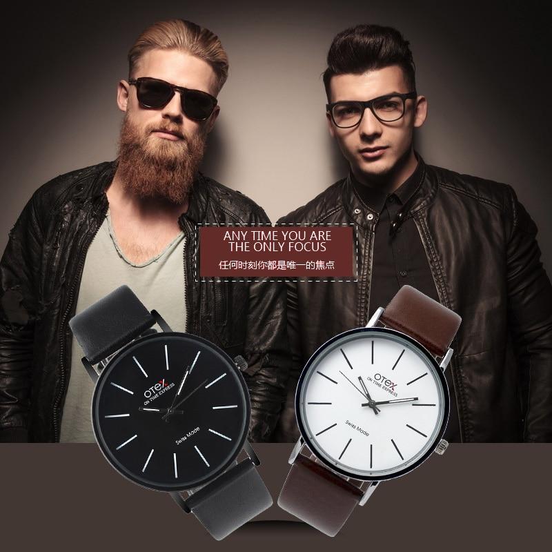 New Luxury Brand OTEX Men s Watches Big Dial Quartz Watch Male Wristwatch Clocks relogio masculino