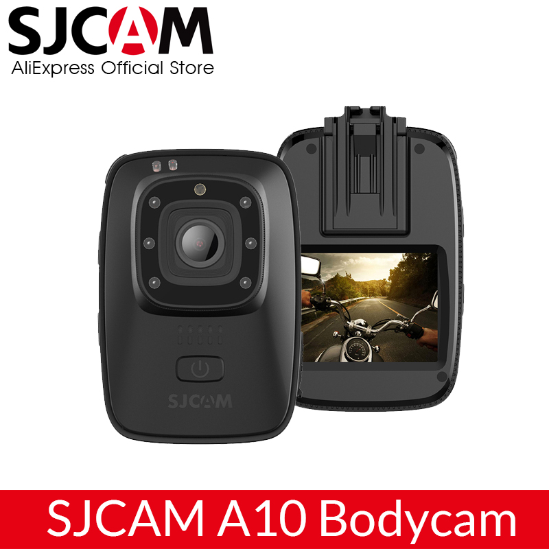 SJCAM A10 M40 Portable Body Camera Wearable Infrared Security Camera IR Cut Night Vision Laser Positioning