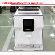 Free DHL 220V Fully automatic cappuccino, latte, espresso coffee machine, CAFE MACHINE touch screen Water tank capacity 1.7L