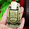 In Stock Antique Box buckle suitcase lock hasp antique wooden trunk metal buckle