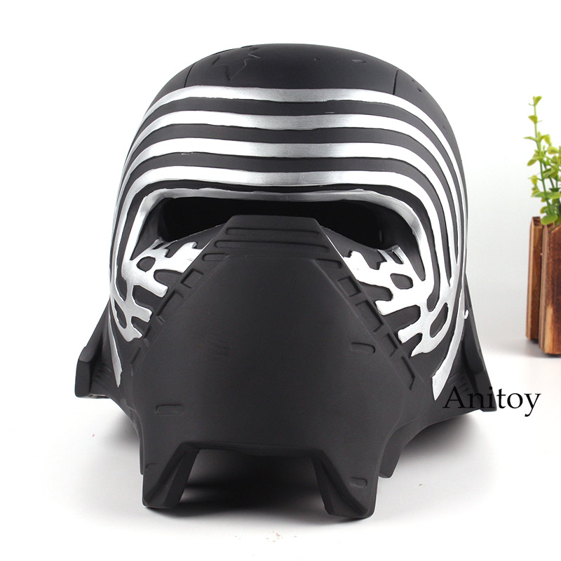 Star Wars Kylo Ren Helmet 1:1 Halloween Party Cosplay Mask PVC Action Figure Star Wars Collection Model ToyStar Wars Kylo Ren Helmet 1:1 Halloween Party Cosplay Mask PVC Action Figure Star Wars Collection Model Toy